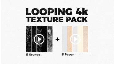 Looping 4K Texture Pack