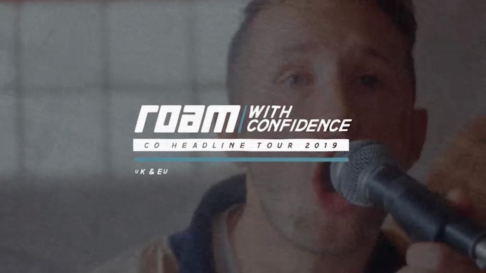 Roam - Headline Tour Advert