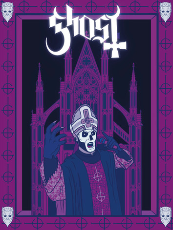 Ghost Band Poster