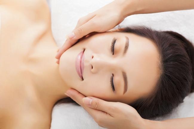 deep tissue massage facial