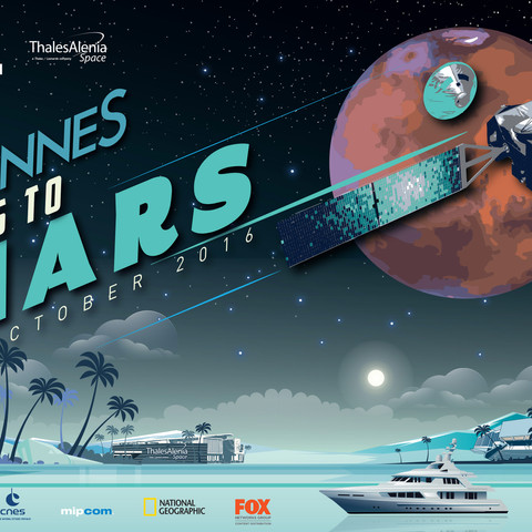 Thalès Alenia Space I Cannes Goes to Mars