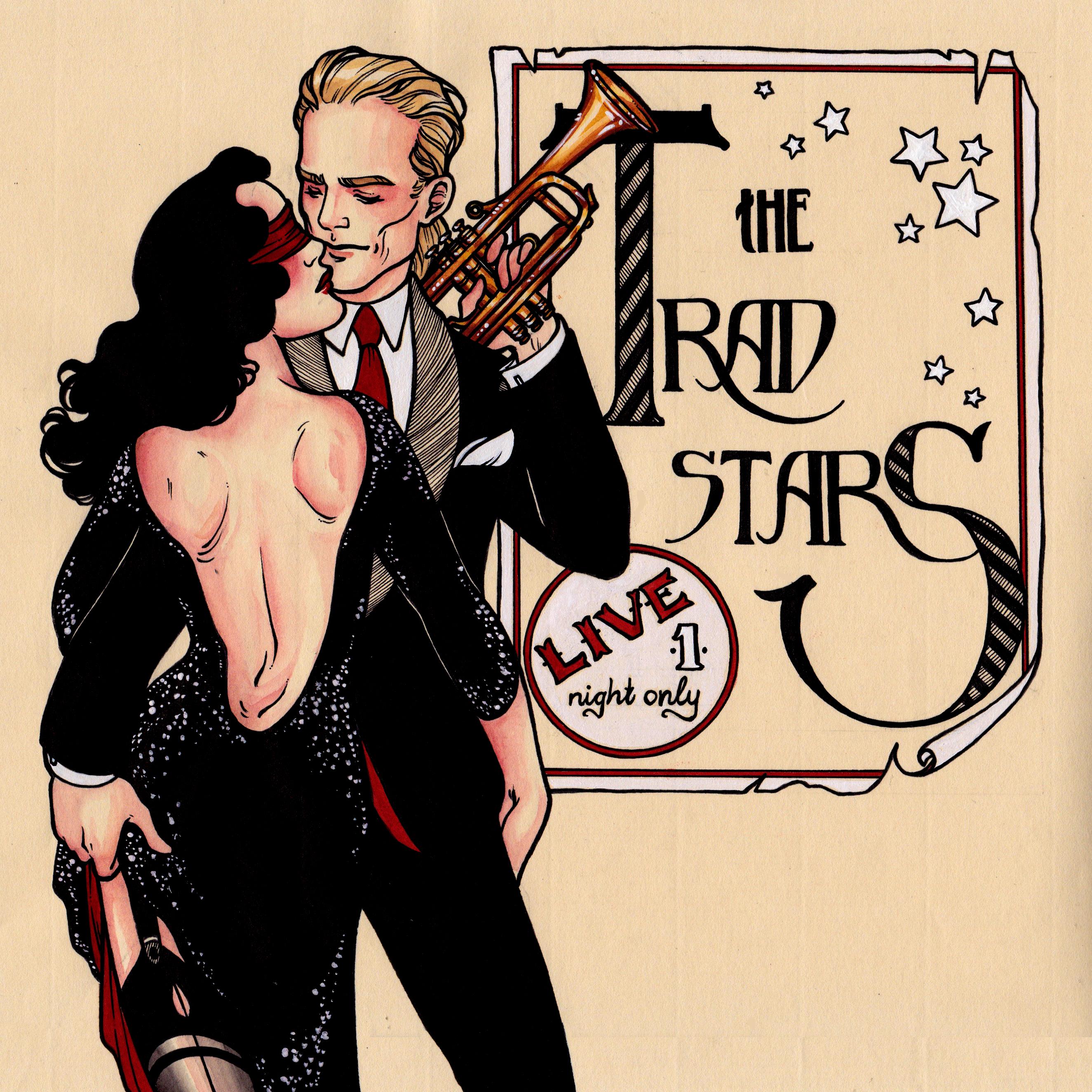 The Tradstars Music Album Cover