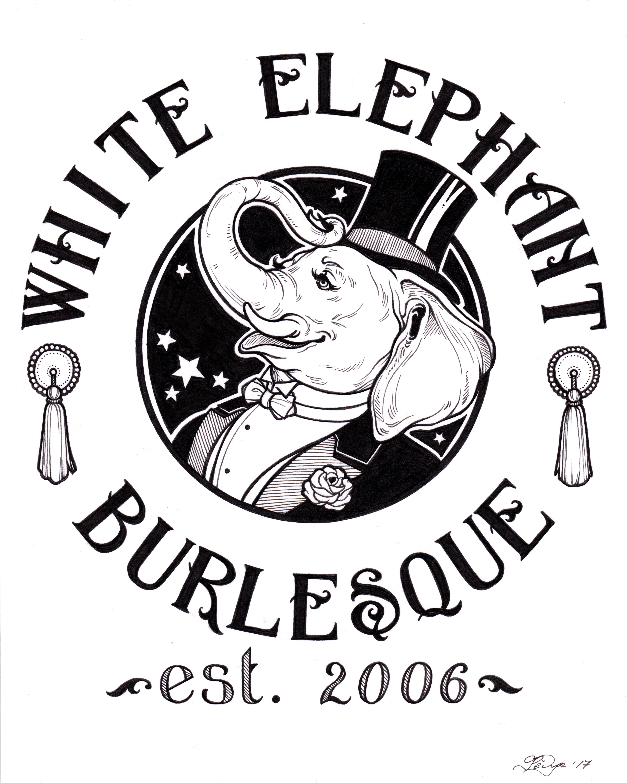 White Elephant Burlesque Logo