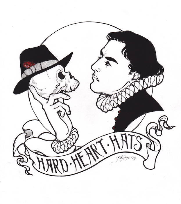 Hard Heart Hats Logo