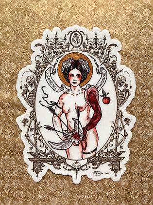 Contra Mundum Vinyl Sticker