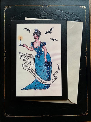 Let This Halloween Bewitch You Greeting Card