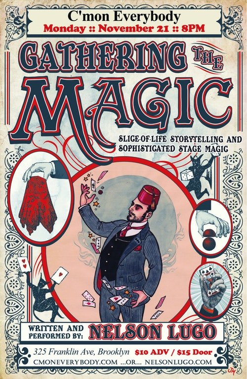 Gathering the Magic Poster
