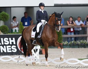 Brittany Fraser and All In at the 2017 CDIO Aachen