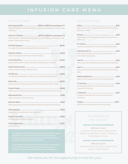 Infusion Care menu (updated prices).png