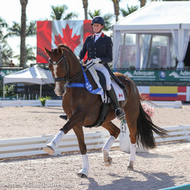 Brittany Fraser-Beaulieu and All In Clinch CDI 5* Win in Grand Prix Freestyle Qualifier