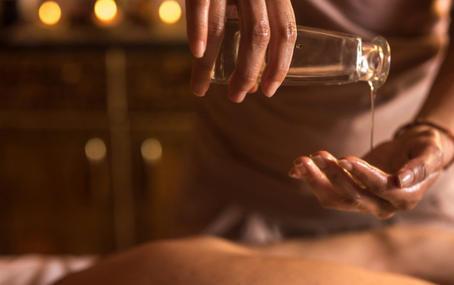 La logique de massage ayurvédique