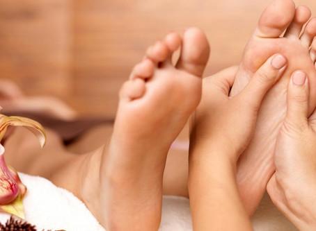 Le massage du pied