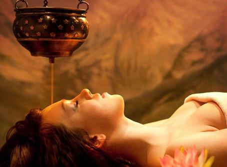 Le massage shirodhara