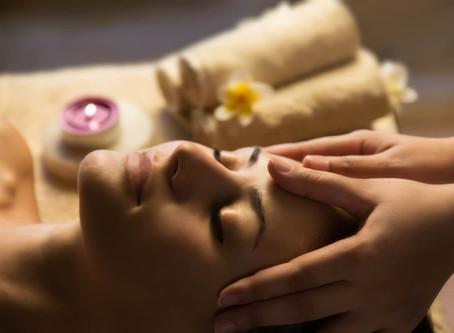 Le massage de la tête
