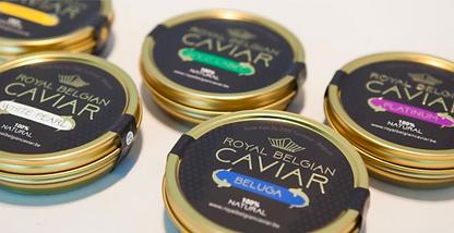 Royal Belgian Caviar 5 doosjes liggend l