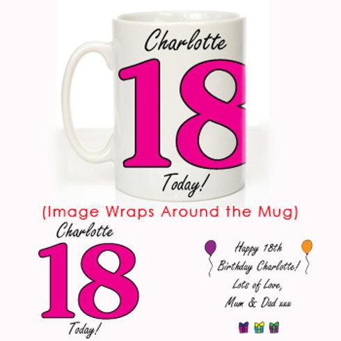 18th Birthday Mug For Her