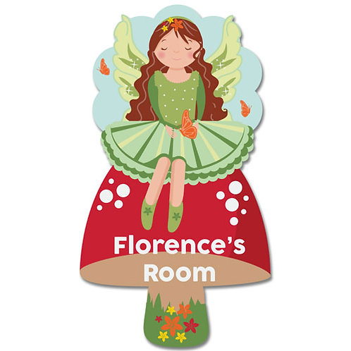 Bedroom Door Plaque Fairy (PTG)