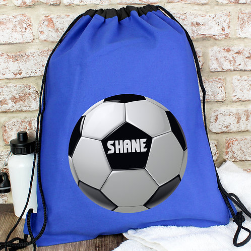 Personalised Football Swim & Kit Bag (PMC)