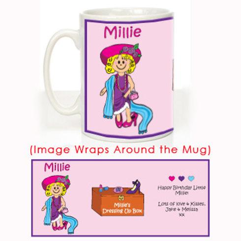 Dress Up Message Mug
