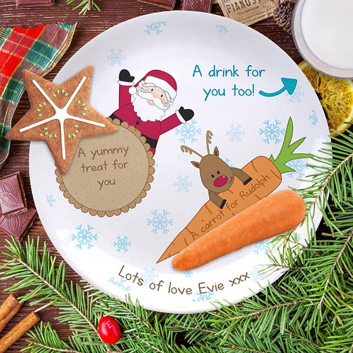 Treats for Santa 8? Coupe Plate