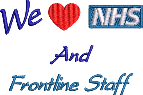 Keyworker Male Polo (WE HEART NHS AND FRONTLINE STAFF)