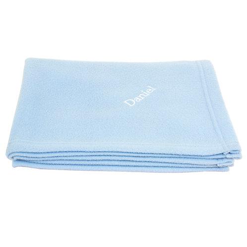 Personalised Blue Baby Blanket (PMC)