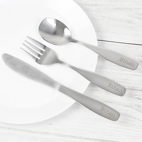 Personalised 3 Piece Cutlery Set (PMC)
