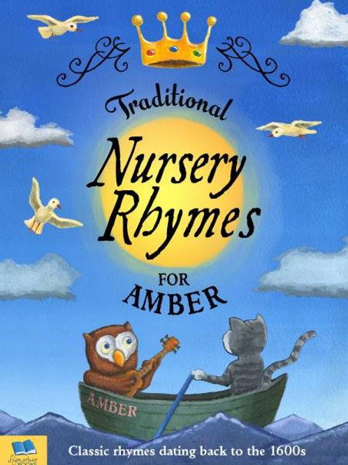 Personalised Traditional Nursery Rhymes book