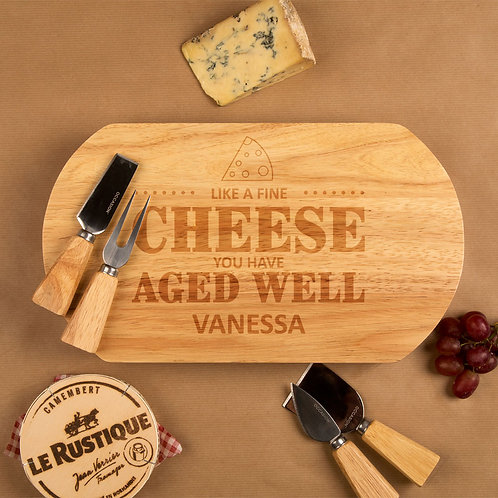 Aged Well Cheeseboard Set