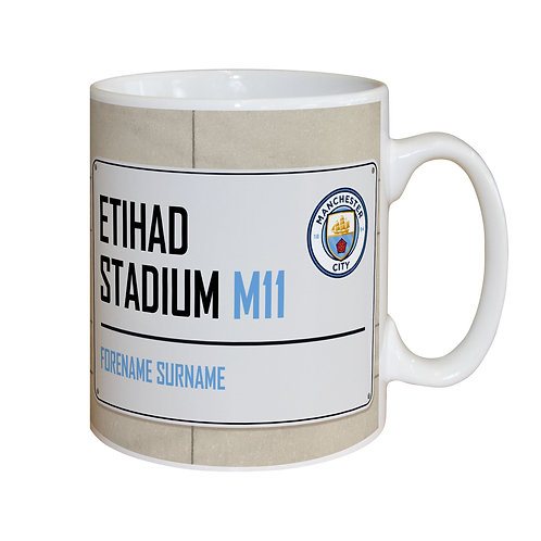Manchester City FC Street Sign Mug (PMC)