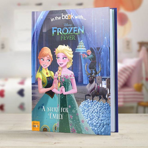 Disney Frozen fever story book