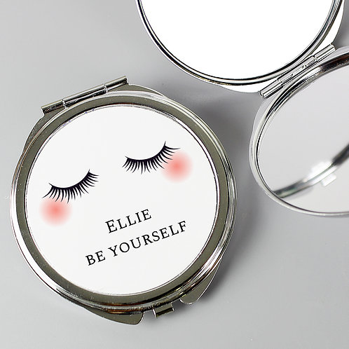 Personalised Eyelashes Compact Mirror (PMC)