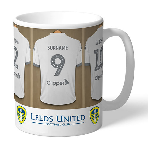 Leeds United Football Club Dressing Room Mug (PMC)
