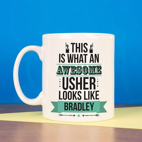 Awesome Usher Mug