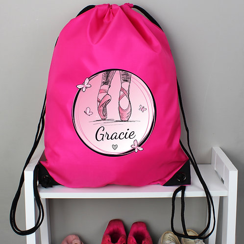 Personalised Ballet Pink Kit Bag (PMC)