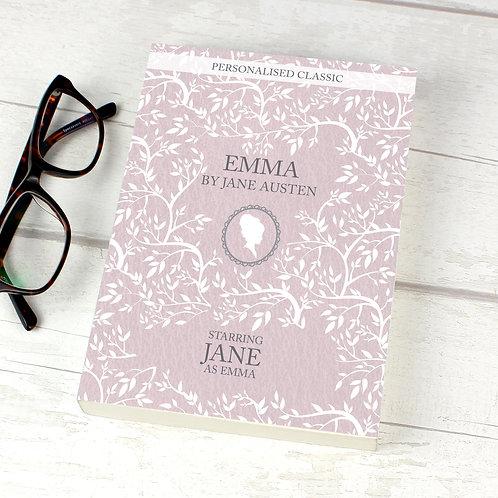 Personalised Emma Novel - 1 Character (PMC)