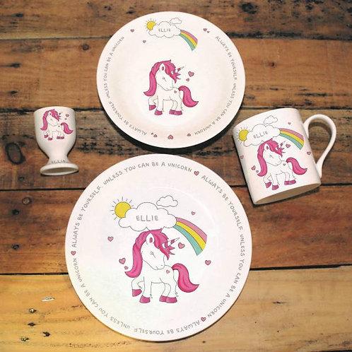 Unicorn Breakfast Set