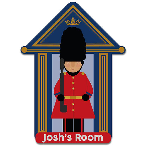 Bedroom Door Plaque Soldier (PTG)