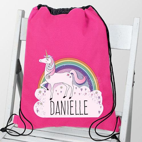 Personalised Unicorn Swim & Kit Bag (PMC)