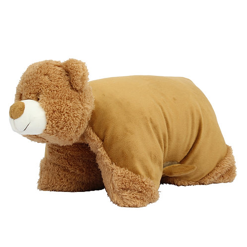 Mumbles Zippy Bear cushion
