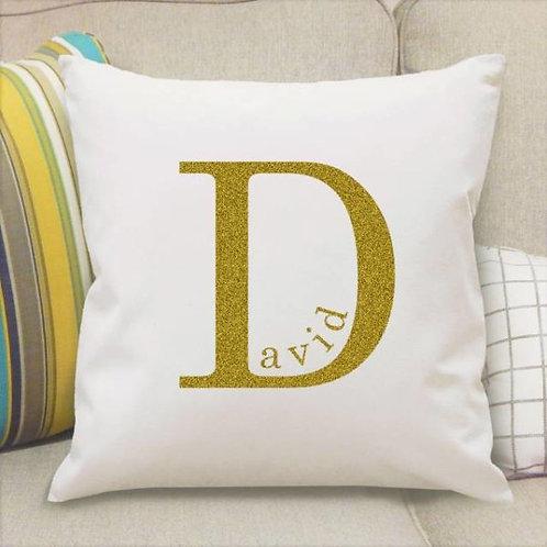 Name in Initial Cushion
