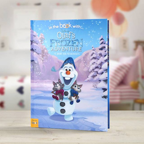 Disney Olaf's Frozen Adventure story book