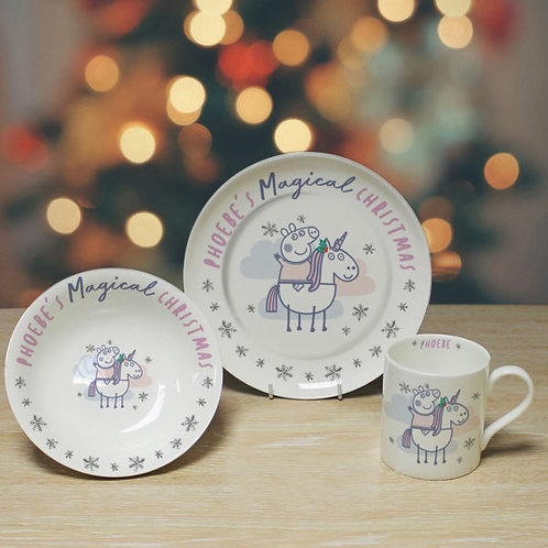 Peppa Pig? Christmas Breakfast Set