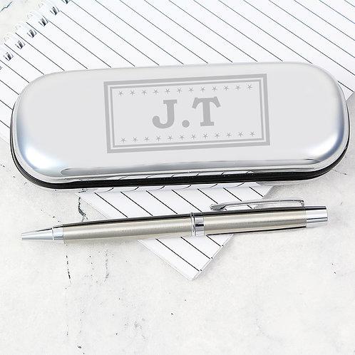 Personalised Monogram Pen and Box Set (PMC)