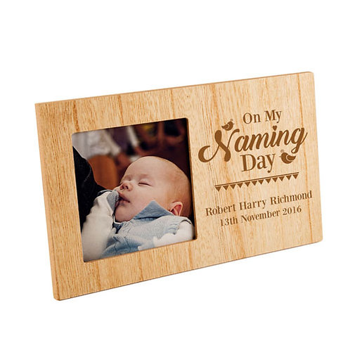 On My Naming Day Photo Frame