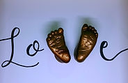 3d cast feet in  love design