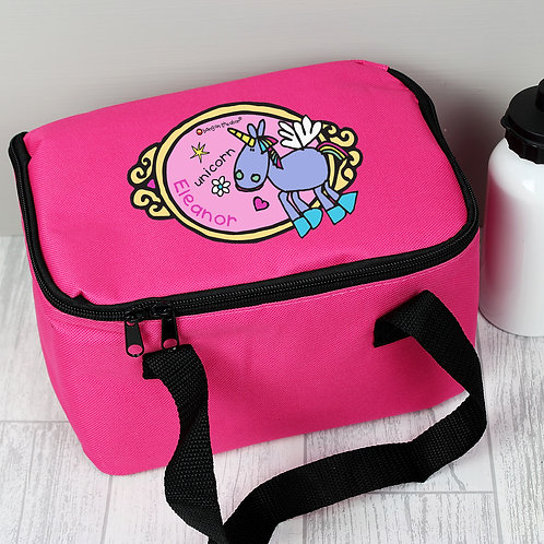 Personalised Bang on the Door Unicorn Lunch Bag (PMC)