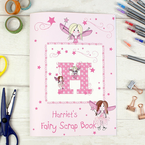 Personalised Fairy - A4 Scrapbook (PMC)