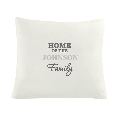 Personalised The Family Cushion Cover (PMC)