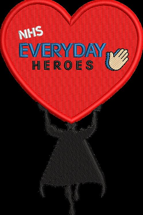 Keyworker Male Polo (SUPER HEROE HOLDING HEART EVERY DAY HEROES)